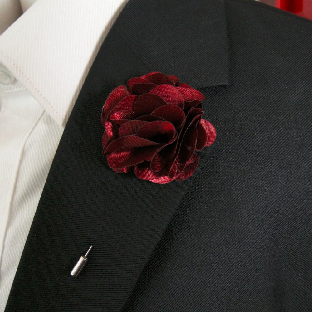 Burst of Blooms Lapel Flower
