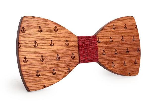 Classic Captain Wood Bow Tie - Debonair Gent Menswear