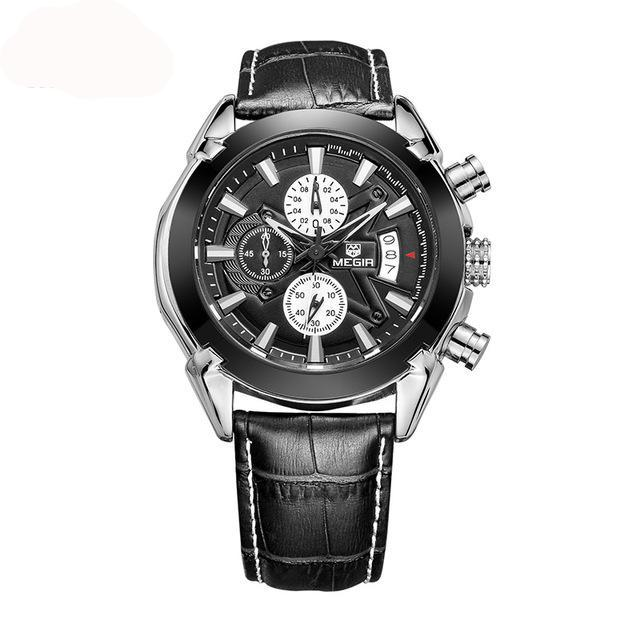 Military Chronograph Wristwatch