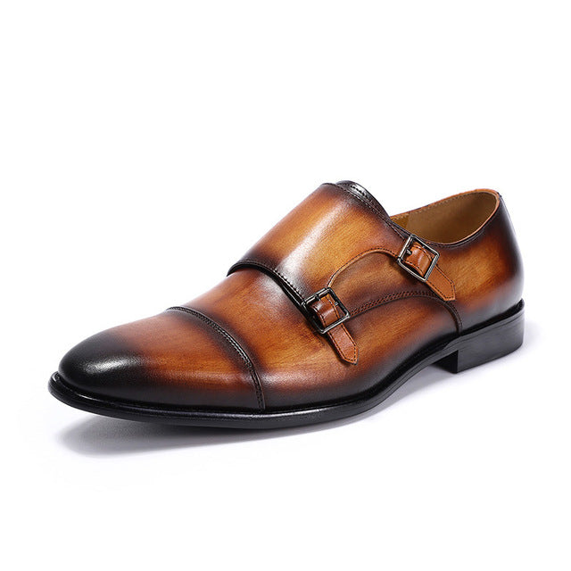 The Executive Monk Strap - Debonair Gent Menswear