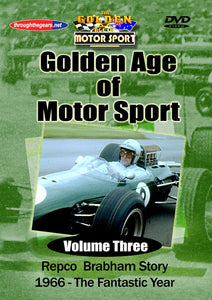 DVD: Golden Age of Motor Sport