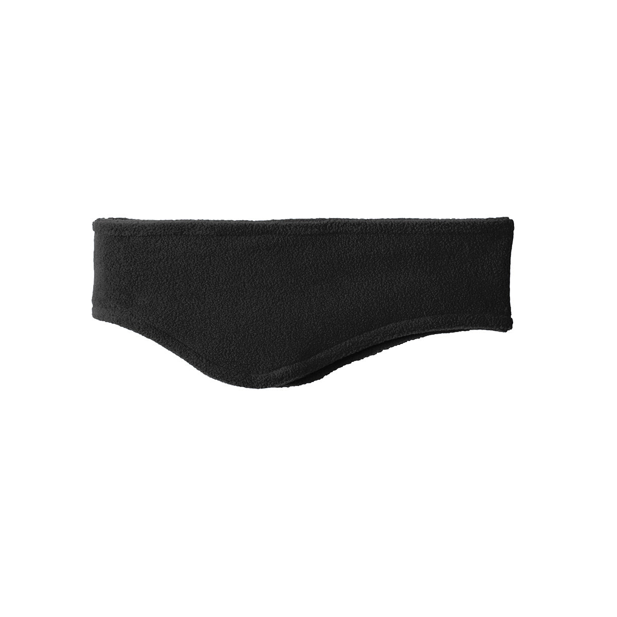 Women Stretch Fleece Headband Black