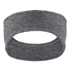 Women Stretch Fleece Headband Midnight Heather