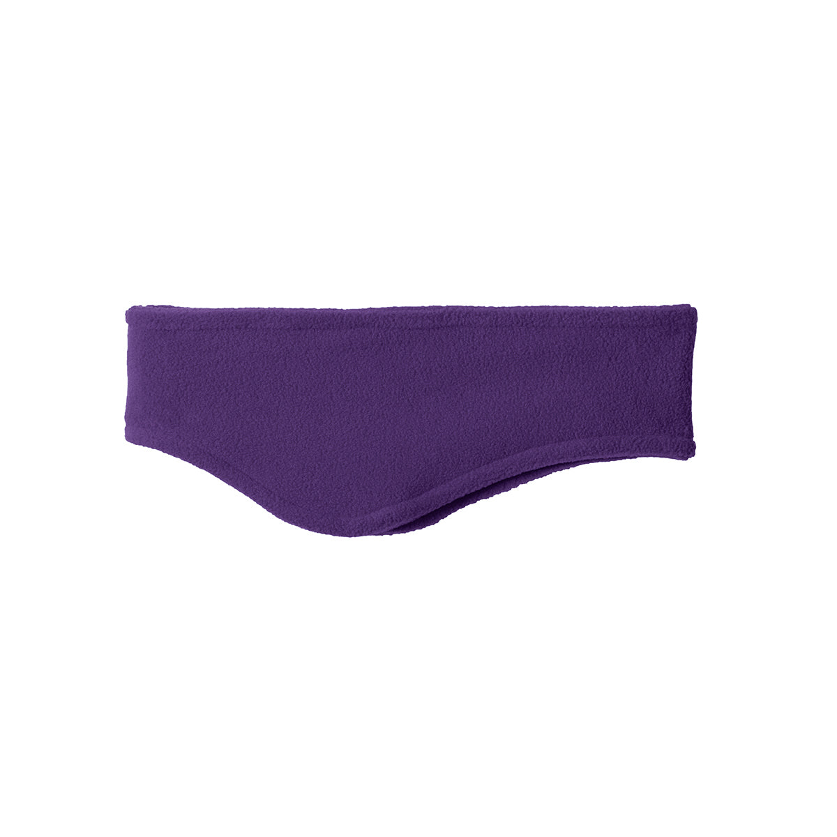 Women Stretch Fleece Headband Purple