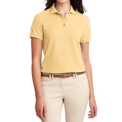 Womens Silk Touch Classic Polo Shirt - Banana - Front