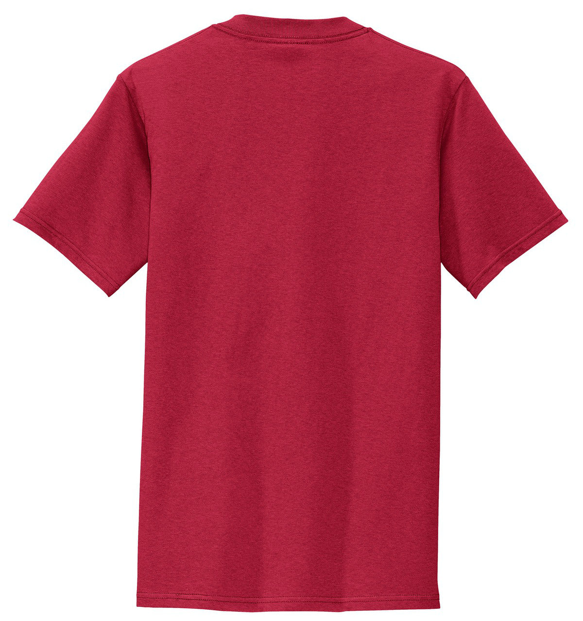 Mafoose Men's All American Tee Shirt with Pocket Red-Back