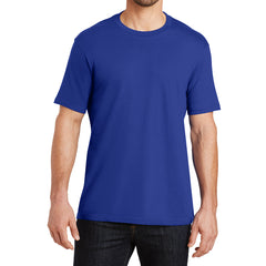 Mens Perfect Weight Crew Tee -  Deep Royal - Front