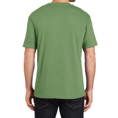Mens Perfect Weight Crew Tee - Fresh Fatigue - Back