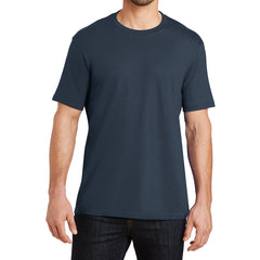 Mens Perfect Weight Crew Tee - New Navy - Front
