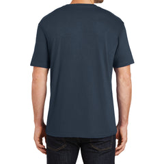 Mens Perfect Weight Crew Tee - New Navy - Back