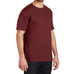 Mens Perfect Weight Crew Tee - Sangira - Side