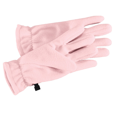 Fleece Gloves Light Pink