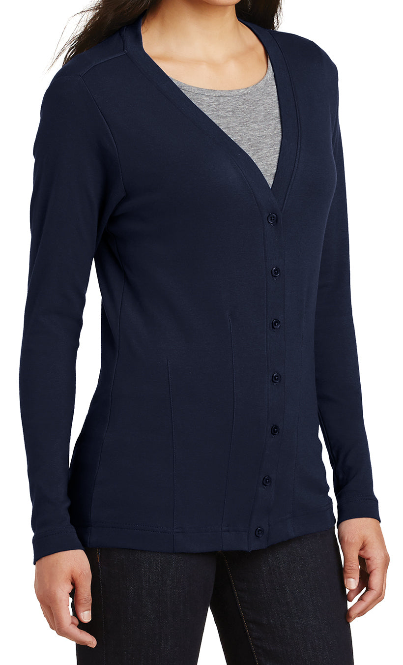 Women's Stretch Cotton Cardigan Sweater