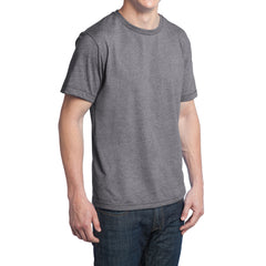 Men's Young Tri-Blend Crewneck Tee - Grey Heather