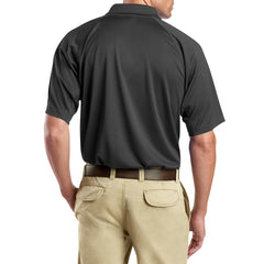 Men's Snag-Proof Tactical Polo Shirt - Charcoal - Back