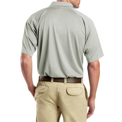 Men's Snag-Proof Tactical Polo Shirt - Light Grey - Back
