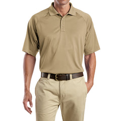 Men's Snag-Proof Tactical Polo Shirt - Tan - Front