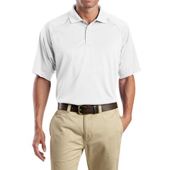 Men's Snag-Proof Tactical Polo Shirt - White - Front