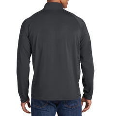 Men's Stretch 1/2 Zip Pullover - Charcoal Grey