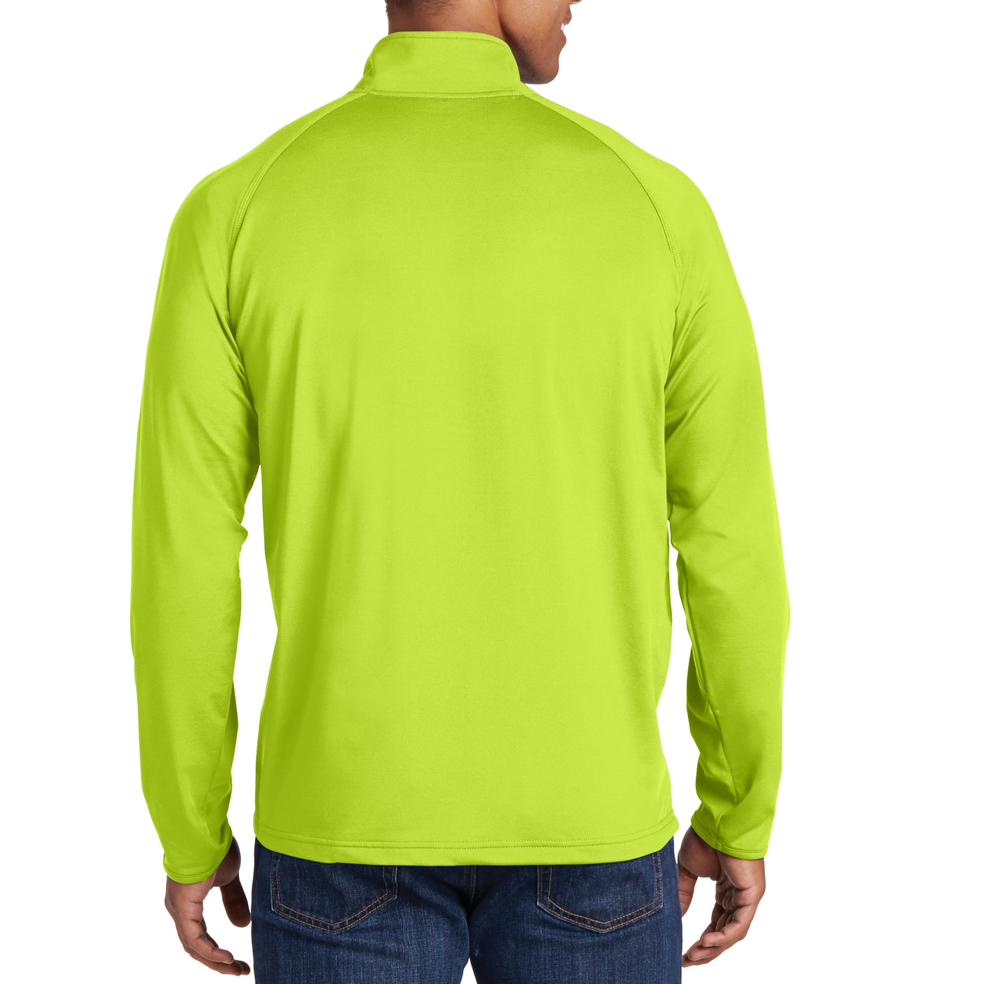 Men's Stretch 1/2 Zip Pullover - Charge Green