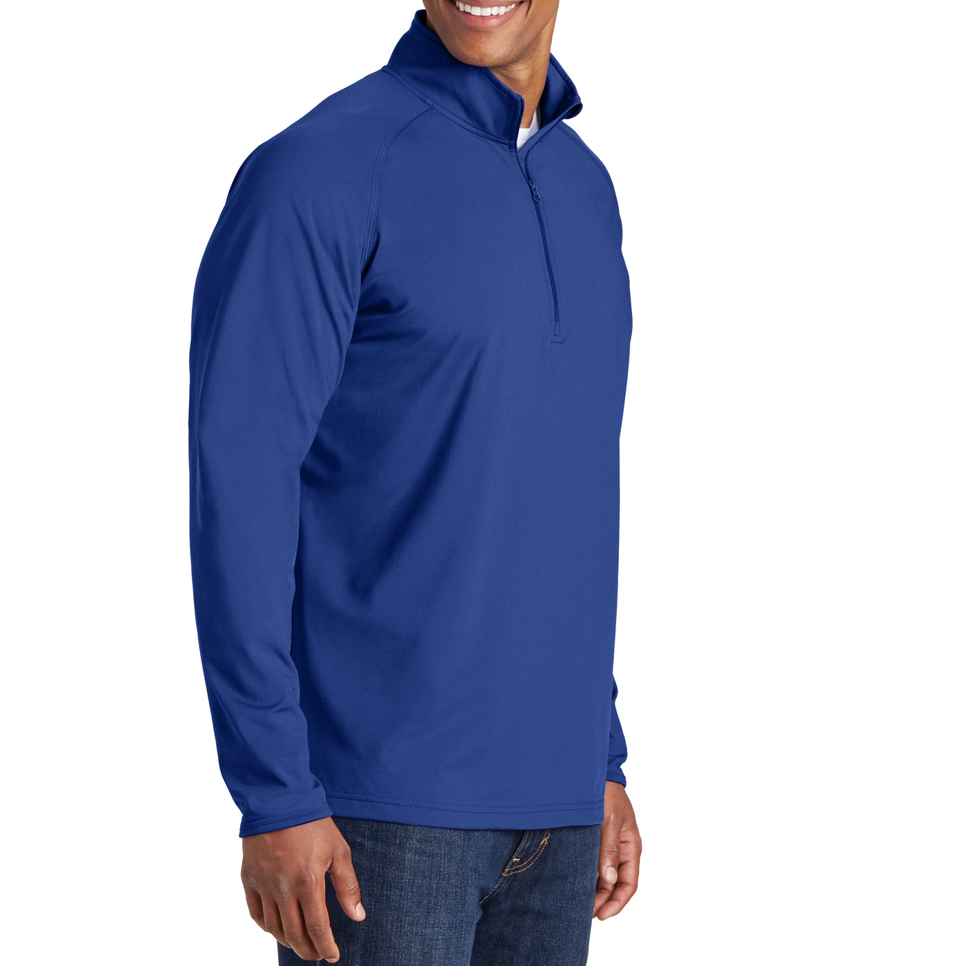 Men's Stretch 1/2 Zip Pullover - True Royal