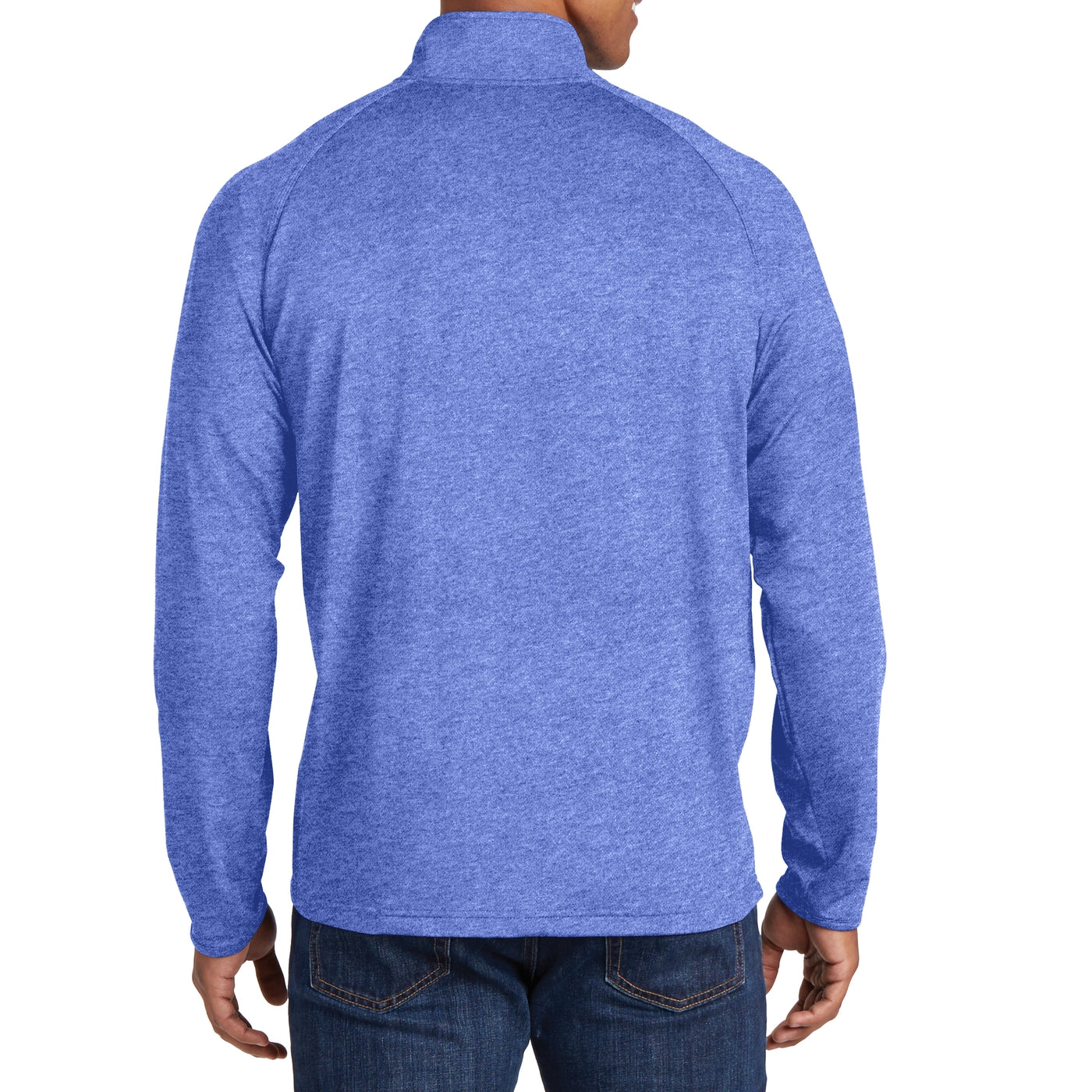 Men's Stretch 1/2 Zip Pullover - True Royal Heather