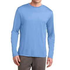 Men's Long Sleeve PosiCharge Competitor Tee - Carolina Blue