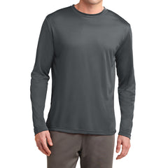 Men's Long Sleeve PosiCharge Competitor Tee - Iron Grey