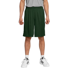 Men's PosiCharge Competitor Short Forest Green Front