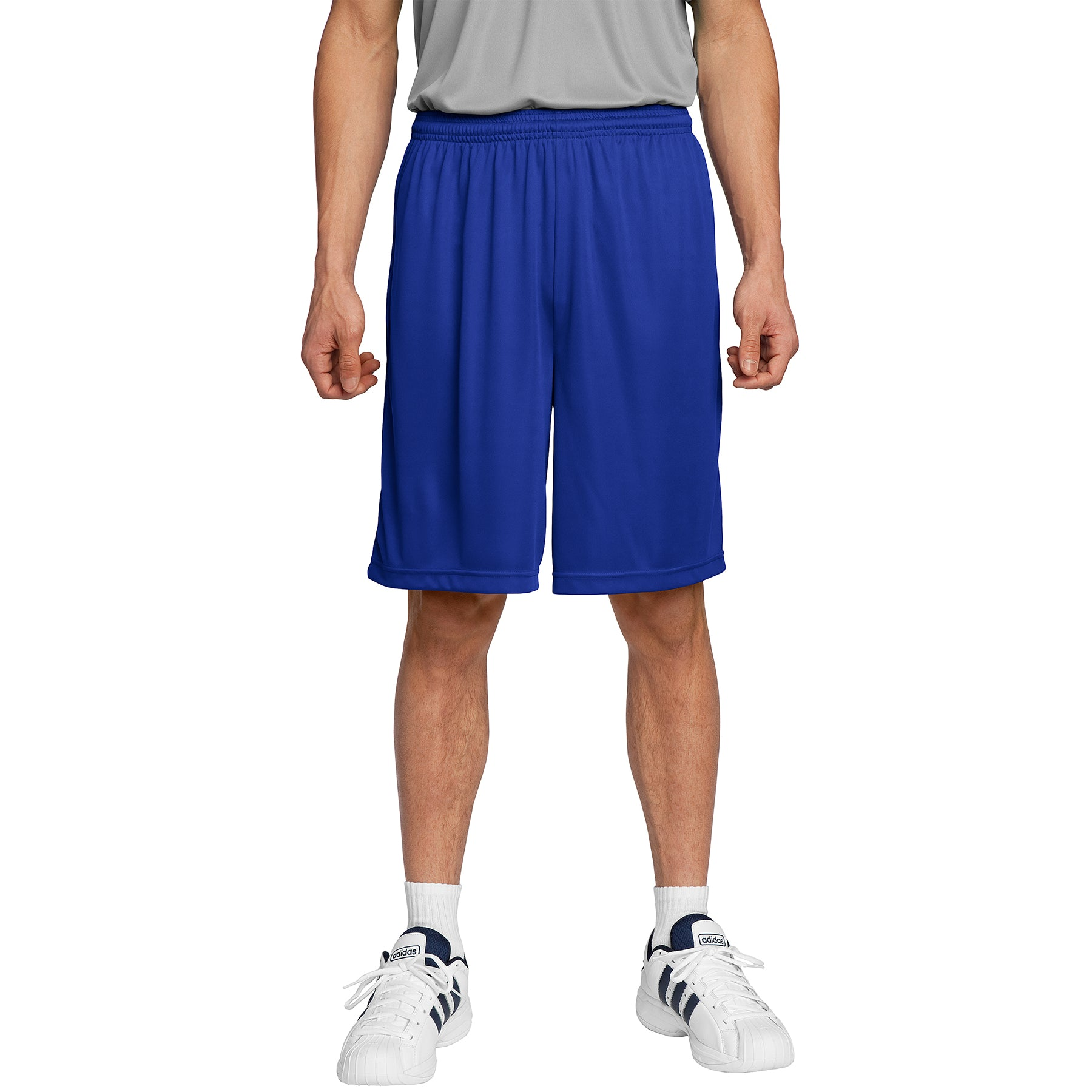 Men's PosiCharge Competitor Short True Royal Front