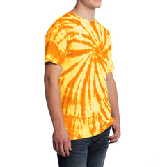 Men's Tie-Dye Tee -Gold - Side