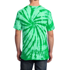 Men's Tie-Dye Tee - Kelly - Back