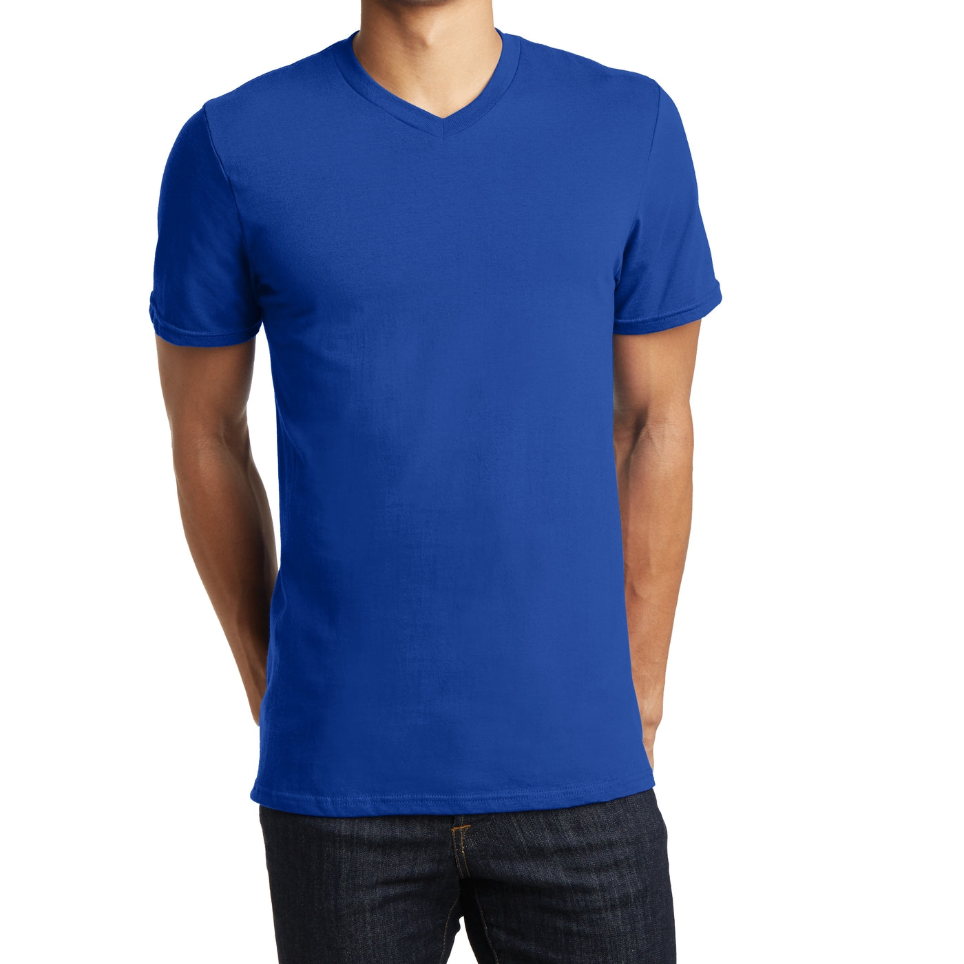 Men's Young The Concert Tee V-Neck - Deep Royal