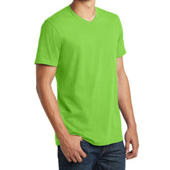 Men's Young The Concert Tee V-Neck - Neon Green