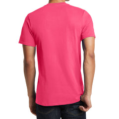 Men's Young The Concert Tee V-Neck - Neon Pink