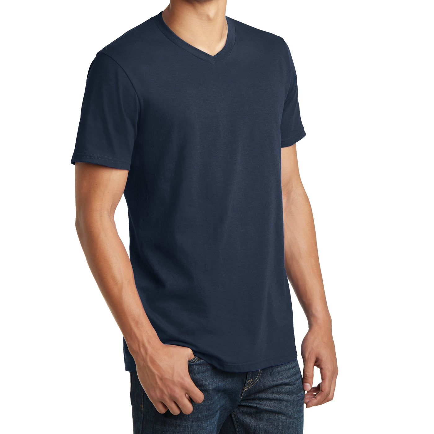 Men's Young The Concert Tee V-Neck - New Navy