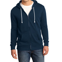 Men's Young Core Fleece Full-Zip Hoodie-New Navy