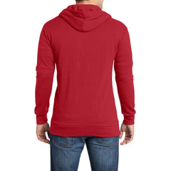 Men's Young Core Fleece Full-Zip Hoodie-New Red