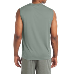Sleeveless PosiCharge Competitor Tee - Silver