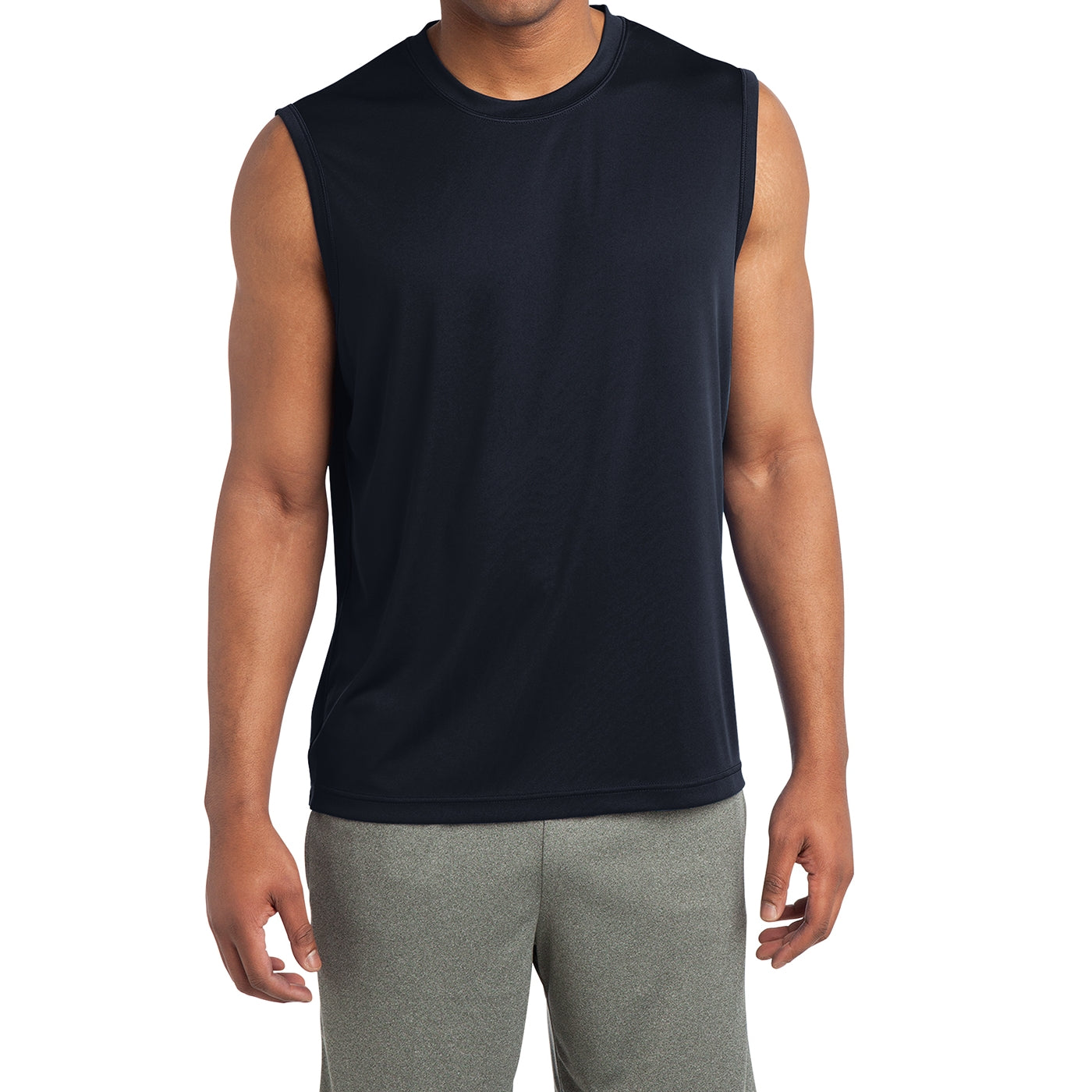 Sleeveless PosiCharge Competitor Tee - True Navy