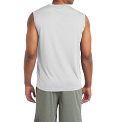 Sleeveless PosiCharge Competitor Tee - White