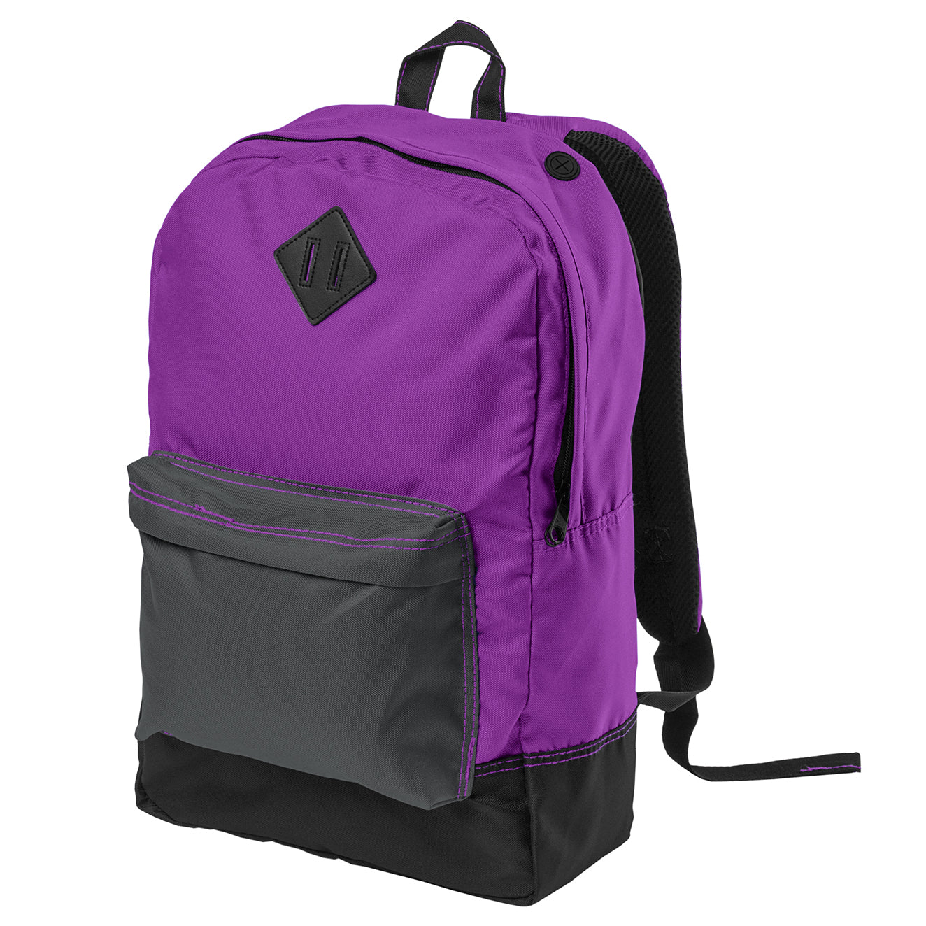 Women's Retro Backpack - Electric Purple