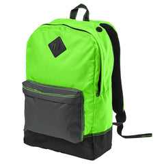 Women's Retro Backpack - Neon Green