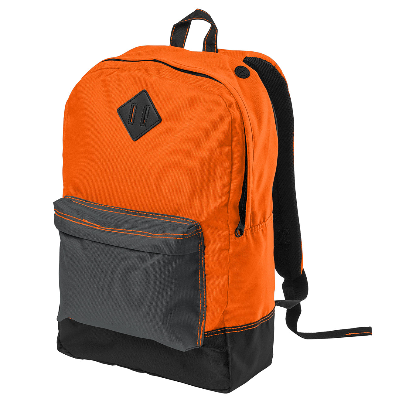 Women's Retro Backpack - Neon Orange
