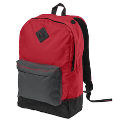 Women's Retro Backpack - Neon Red