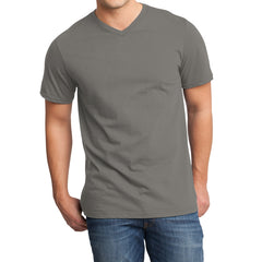 Men's Young  Very Important Tee V-Neck - Grey
