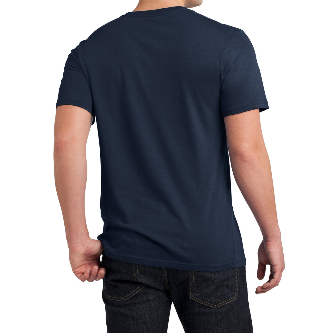 Men's Young  Soft Wash Crew Tee - New Navy