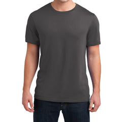 Men's Young  Soft Wash Crew Tee - Warm Grey