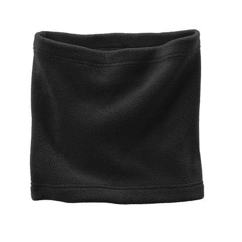 Fleece Neck Gaiter Black