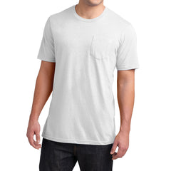 Men's Young Very Important Tee with Pocket - White